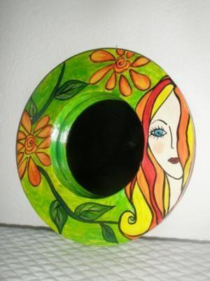 marco espejo decorativo con espejo marco espejo con espejo decorativo acrilico,impermeabilizante a mano