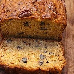 "Papaya nut cake... maybe, will try if can find the ""just right"" papaya.  Caribbean Recipes"