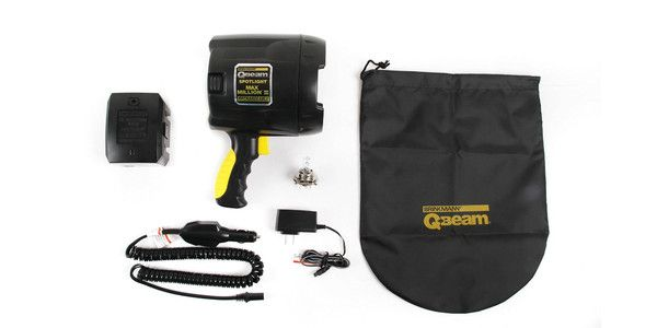Brinkmann QBeam 800-2380-W Max Million III Rechargeable Spotlight