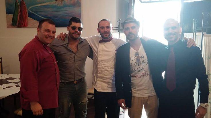 Salvatore Esposito e Marco D'Amore, protagonisti della serie Gomorra.