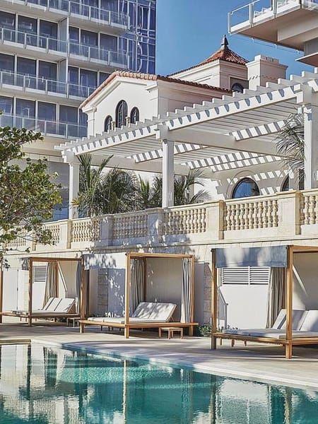 Miami Beach Hotel Luxury Resort Four Seasons The Surf Club