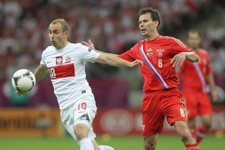 Mecz Polska - Rosja na UEFA EURO 2012