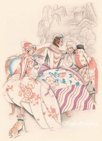 The Memoirs Of A Lady Of Quality by Tobias Smollett with illustrations by Vera Willoughby
