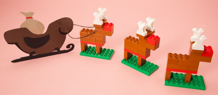 Today we spotted a new animal in the LEGO® DUPLO® 10584 Forest: Park set. This handsome reindeer was getting a little tired of being teased about his beautiful red nose, so he decided to get away for a while and visit his dear deer friends at the Forest Park for the holidays.