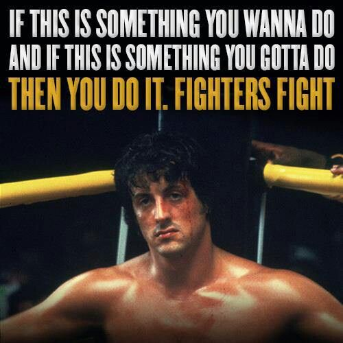 Rocky quotes #fameandglory #cleamclemore
