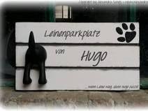 Leinenhalter, Leinenparkplatz, Hundegarderobe