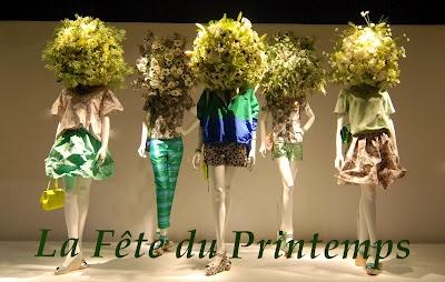 La fête du Printemps at Printemps Haussmann