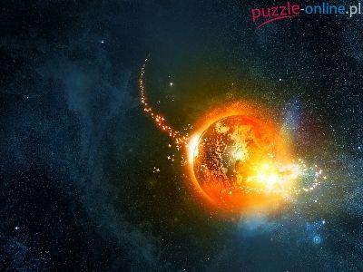 Planeta, Kosmos, Ogień