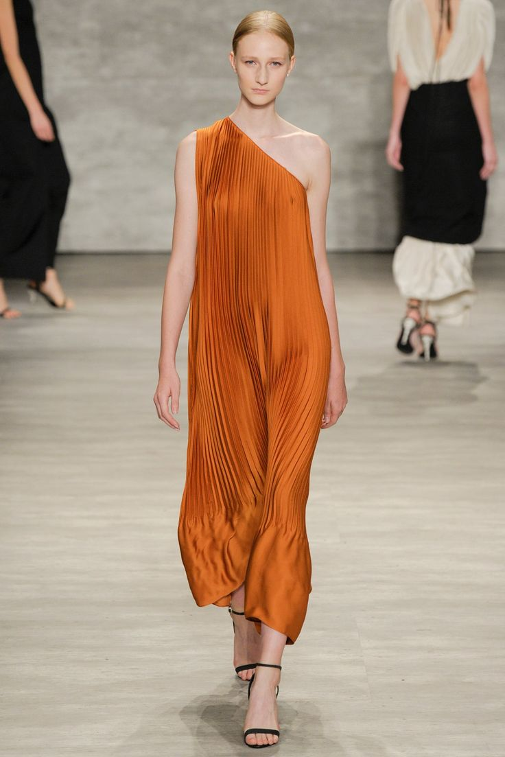 Tome Spring 2015 Ready-to-Wear Fashion Show - Charlotte Lindvig