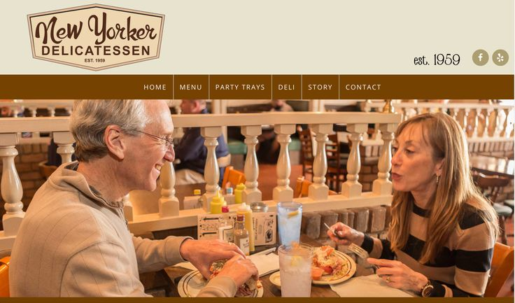 Website for the New Yorker Delicatessen in Roanoke. Launching soon!