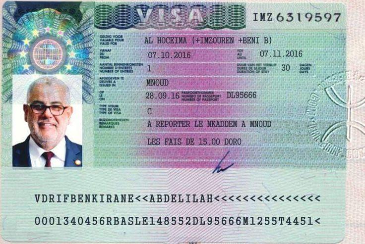 Insolite: Les habitants d'Al Hoceima accordent un visa de court séjour à Benkirane!