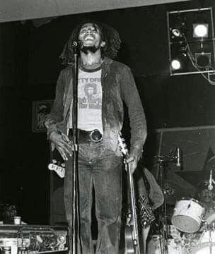 Bob Marley live in Toronto, Canada, 1975. Natty Dread Tour