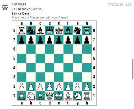Comment jouer aux échecs avec Facebook Messenger ?