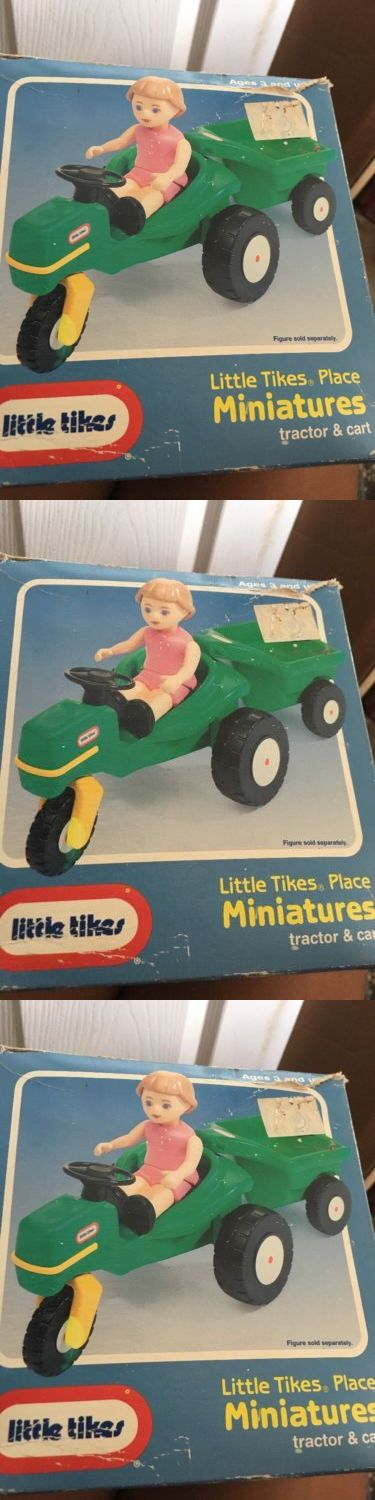 Dollhouse Size 19179: Little Tikes Place Miniatures Dollhouse Tractor And Cart New -> BUY IT NOW ONLY: $89.99 on eBay!