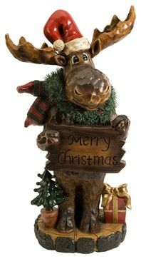 Christmas Moose transitional-holiday-decorations