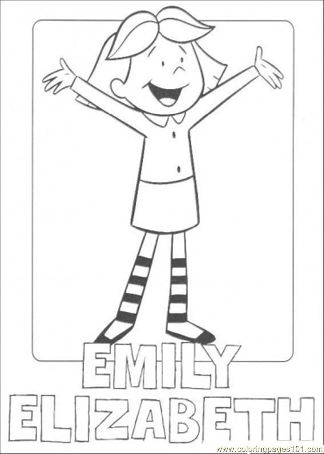 Emily Alizabeth Coloring Page Free Clifford The Big Red Dog Rhpinterest: Coloring Pages Clifford The Big Red Dog At Baymontmadison.com