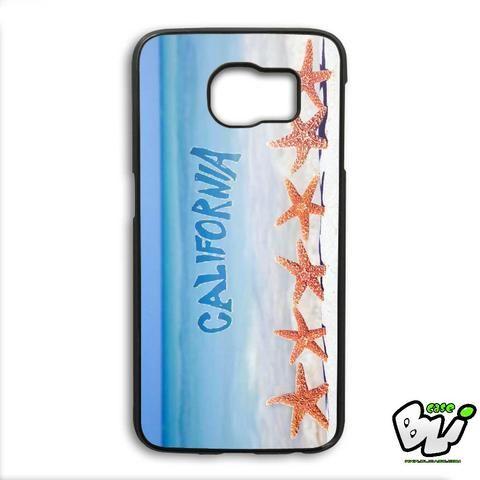 California Starfish In Beach Samsung Galaxy S6 Edge Case