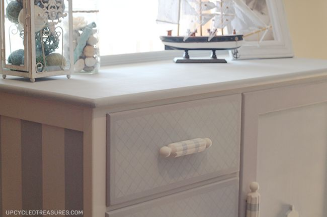Dresser Makeover with a Hidden Chalkboard