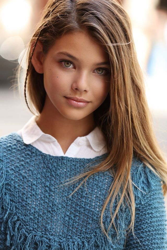 Laneya Grace, modelo estadounidense de 11 años