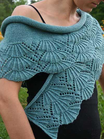 Knitting Pattern Central Lace Shawls : Bliss Shawl Knitting Pattern Download from e-PatternsCentral.com -- Beautiful...