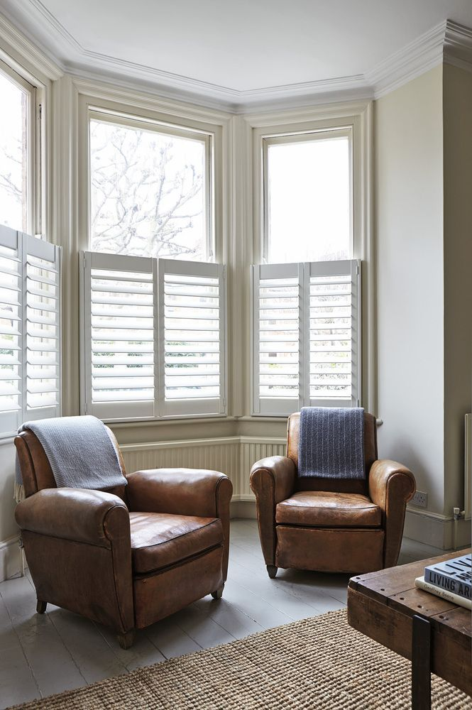 There S Nothing More Charming Than Cafe Shutters Or Half Shutters In A Bay Window