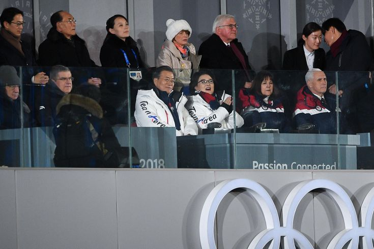opening olympia 2018 in Pyeongchang