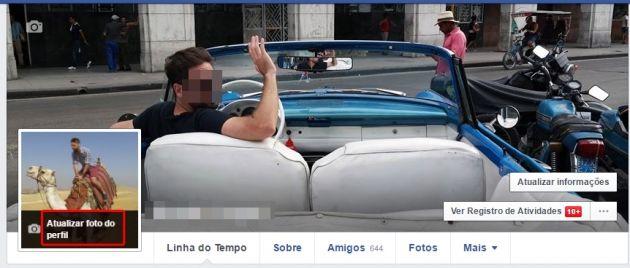Aprenda a colocar uma foto temporária de perfil  no Facebook