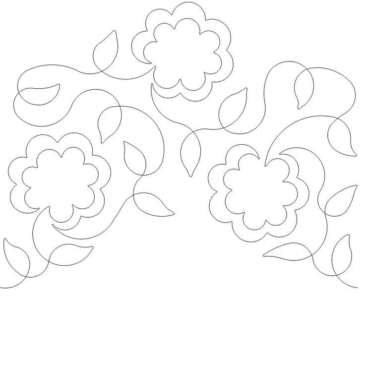 448 Best Quilting Stitch Patterns Images On Pinterest