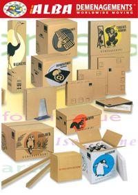Cartons Alba Déménagements