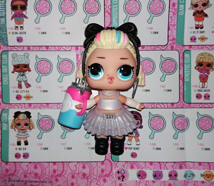 Original LOL Surprise Dolls 80S BB BABY Under Wraps Series 4 Real toy