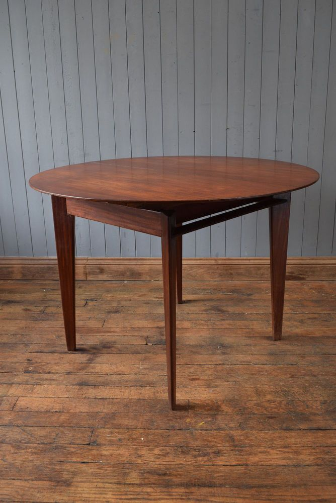 danish extending circular oval teak dining table teak dining table