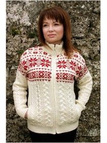 Fairisle Zip Cardigan Z4569