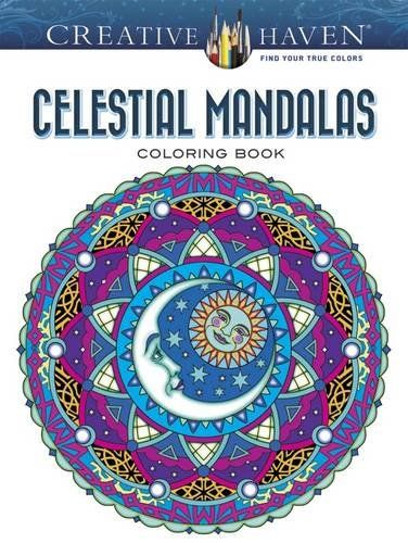 Creative Haven Celestial Mandalas Coloring Book Adult By Marty Noble