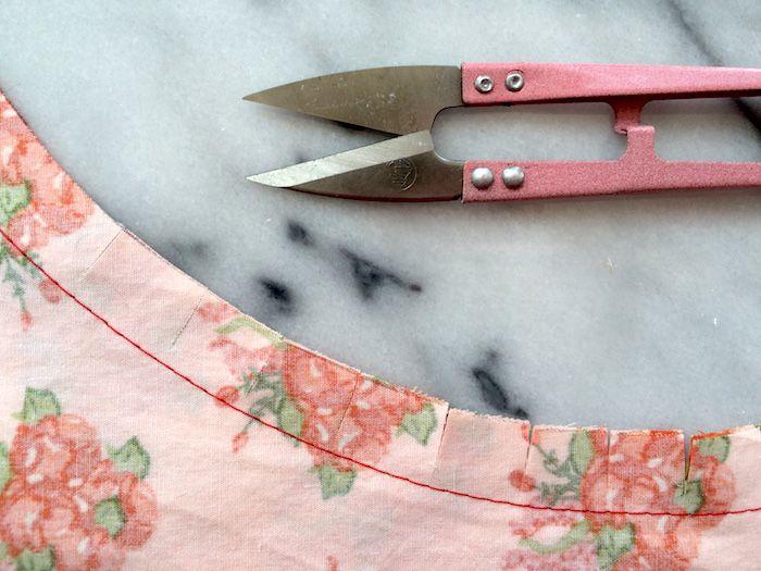 Clipping & entalhando subsídios de costura: Como, por que e onde - por Mão Londres