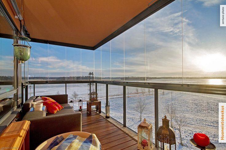 Myytävät asunnot, Muotoilijanpiha 6, Helsinki #oikotieasunnot #parveke #balcony #Helsinki