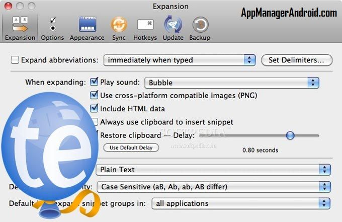 Text Expander 4.3.3 Latest Version is a low key and user friendly Mac OS X features application that helps you type a lot of by using the custom abbreviatio