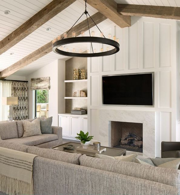 47 Fireplace Designs Ideas: 57+ The Pain Of Family Room Design With Fireplace And Tv