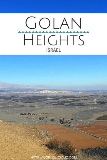 Golan Heights - the border area between Israel, Syria and Jordan. Full of beauty and surprises with amazing views.