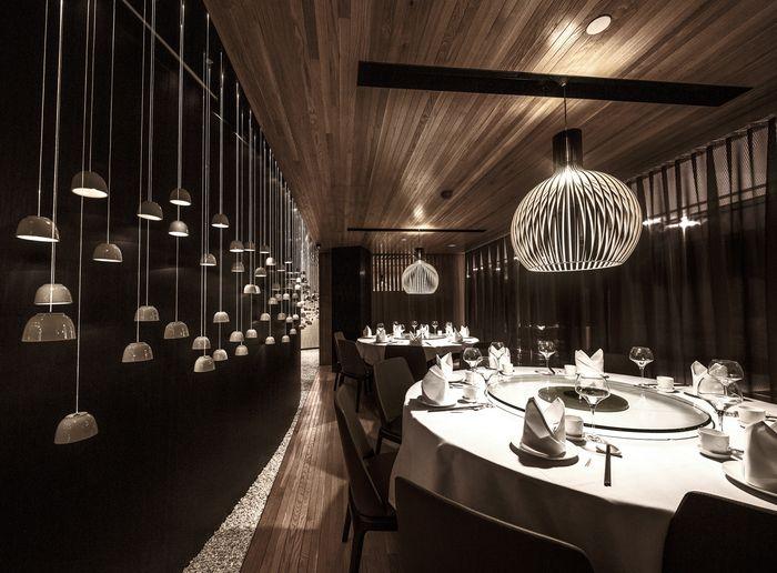 98 bestRestaurant images on Pinterest Restaurant interiors - innovatives decken design restaurant