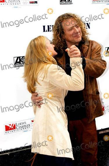 Robert Plant and his sister Allison at the Special Premiere of the New Led Zeppelin DVD at Loew's 34th Street Theatre, New York City, 2005.