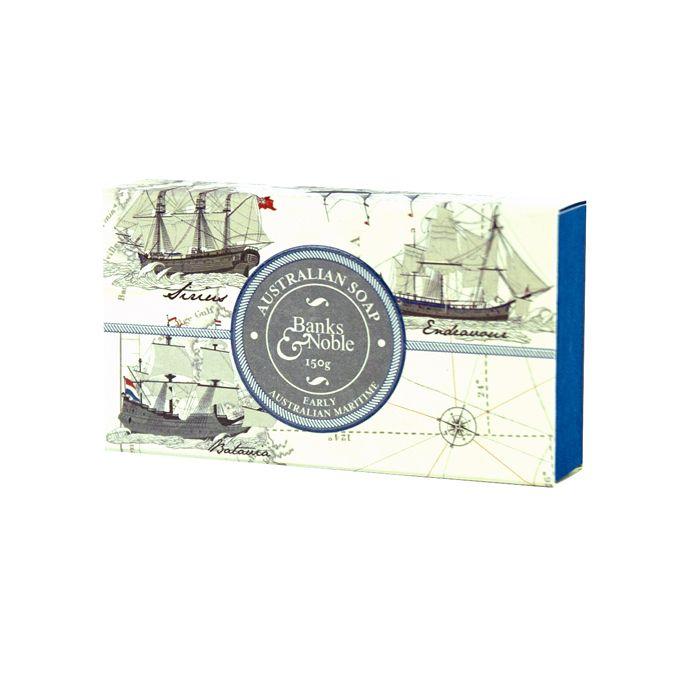 Early Australian Maritime soap bar #mensgifts #soap #australia