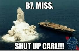 Image result for shut up carl