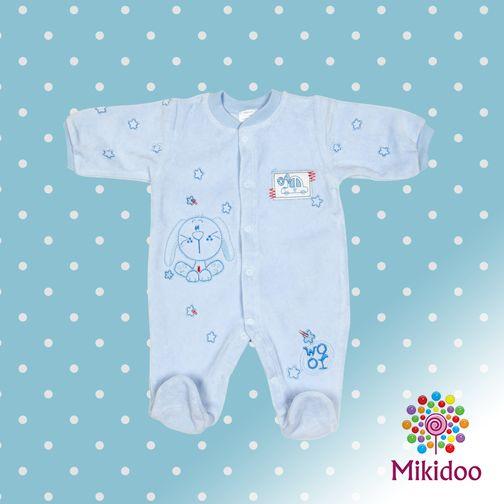 Gökyüzü renkli bebek tulum mikidoo.com'da 31,90TL! https://www.mikidoo.com/MAVI-KADIFE-BEBEK-TULUM-d194