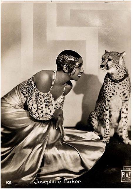 "Josephine Baker - the ""Black Pearl"", ""Bronze Venus"" and ""Créole Goddess"""