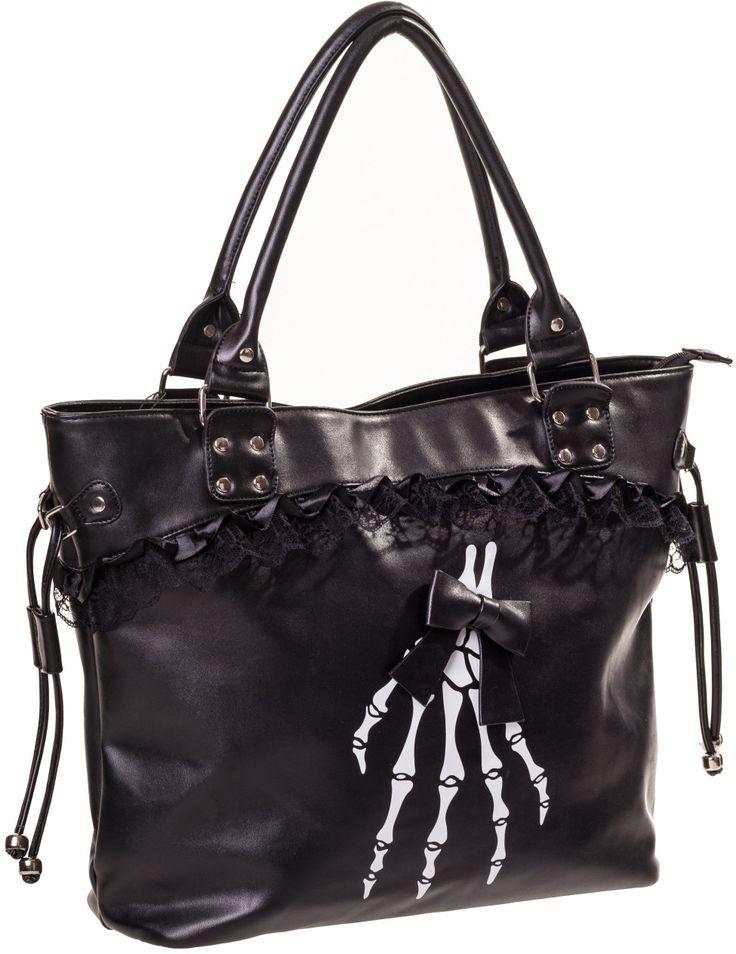 Bolso Renegades de Banned #handbag #skeleton #esqueleto #calaveras #gotico #gothic #alternative #xtremonline