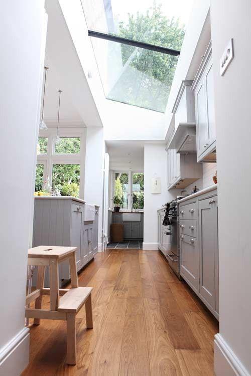 Kitchen skylight.