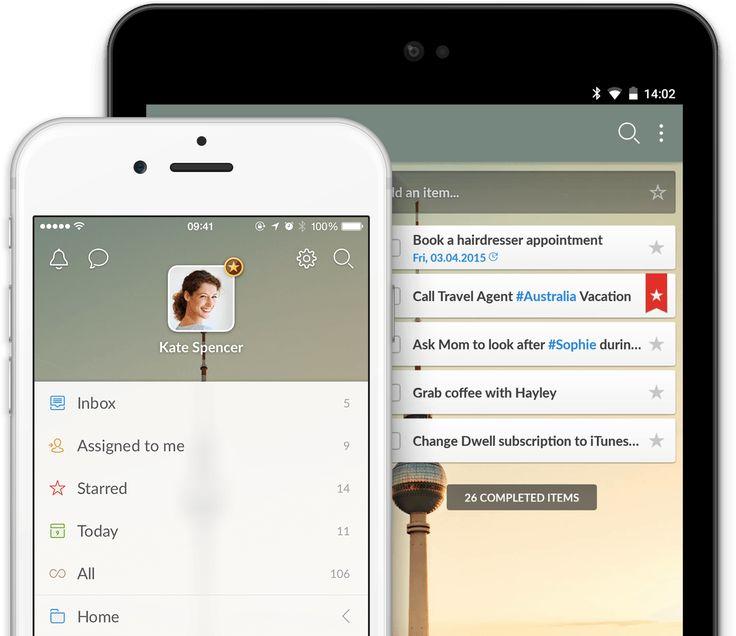 Wunderlist | Lista de tarefas, Lembretes, Afazeres - o aplicativo do ano!