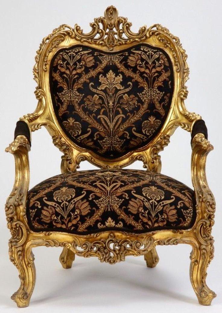 19th Century Itqlian Rococo Arm Chair