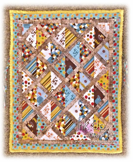 Ink Up: Car Seat Quilt