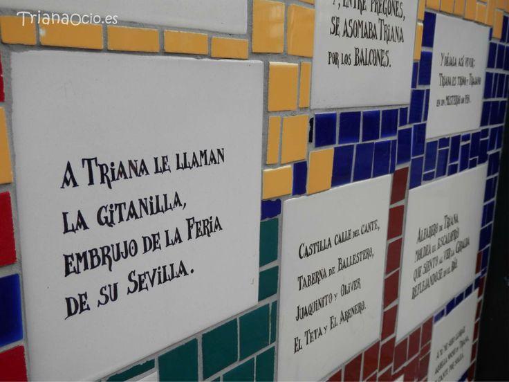 Soleas dedicadas a Triana - Monumento de a los Alfareros - Triana - Sevilla www.trianaocio.es